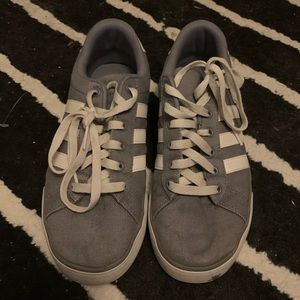 Grey Adidas Basic Sneakers